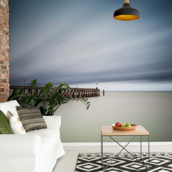 Blankenberge Pier Photo Wallpaper Mural