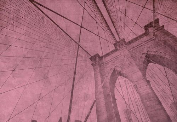 Brooklyn Bridge Grunge Pink