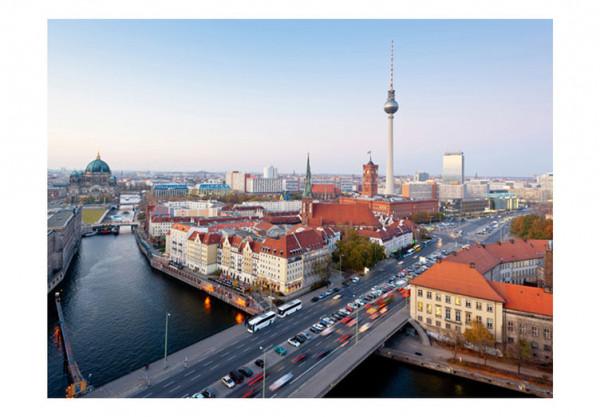 Fototapet - Berlin view from Fischerinsel