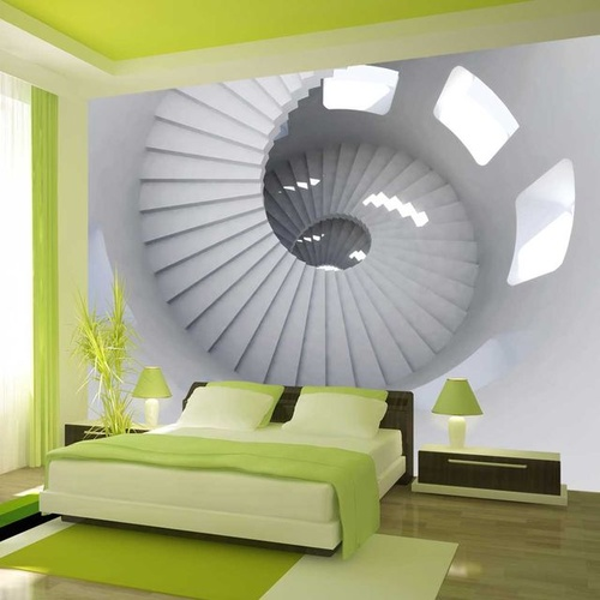 Fototapet - Lighthouse staircase