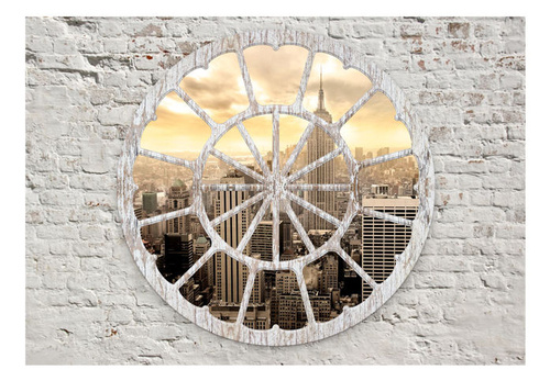 Fototapet - New York: A View through the Window