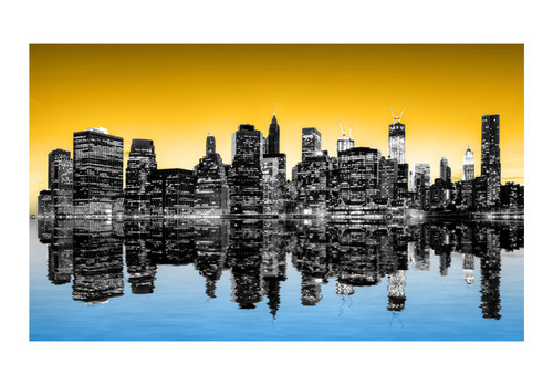 Poze Fototapet - Sunny glow over New York