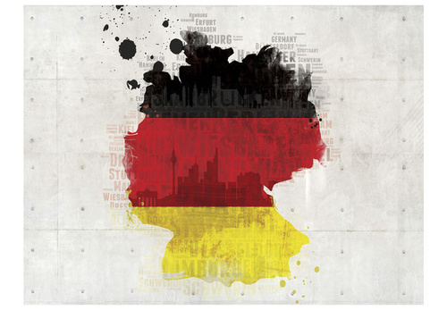 Poze Fototapet - The national colors of Germany