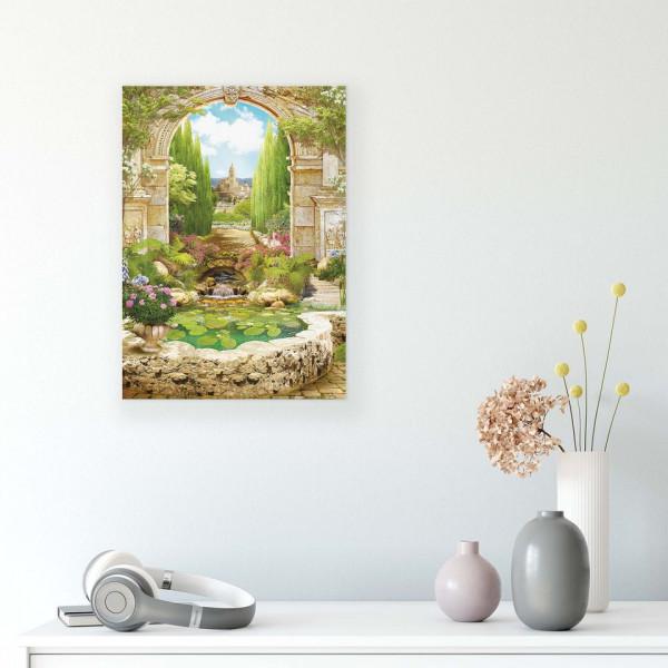 Gardens Canvas Photo Print