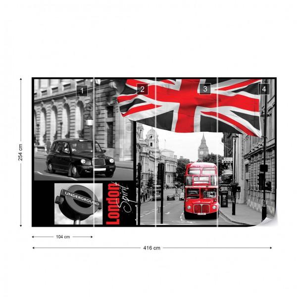 London Photo Wallpaper Wall Mural