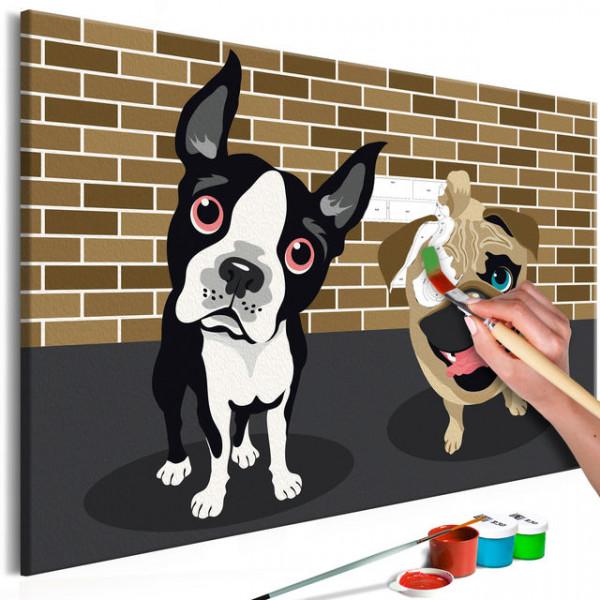 Pictatul pentru recreere - Cute Dogs