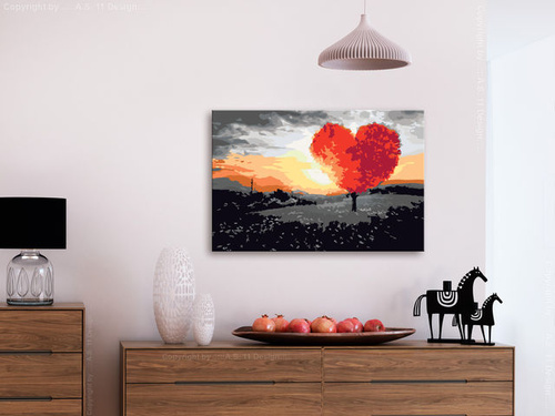 Poze Pictatul pentru recreere - Heart-Shaped Tree (Sunrise)