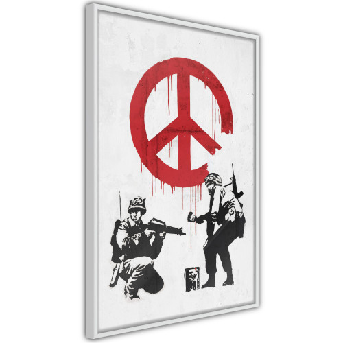 Poster - Banksy: CND Soldiers II