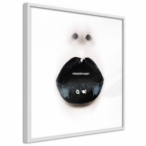 Poster - Black Lipstick (Square)