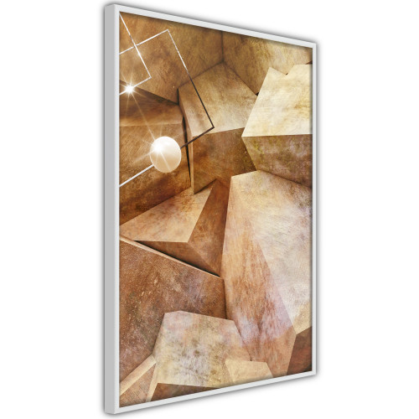 Poster - Cubic Rocks