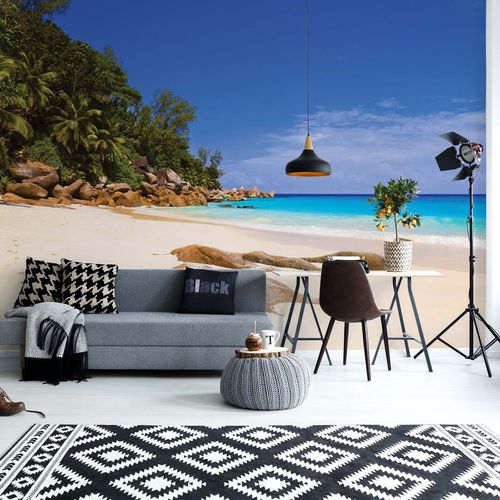 Sunny Island Beach Photo Wallpaper Wall Mural