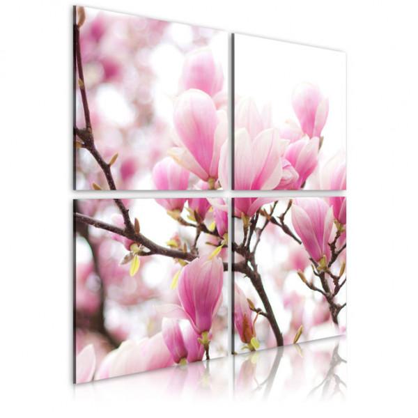 Tablou - Blooming magnolia tree