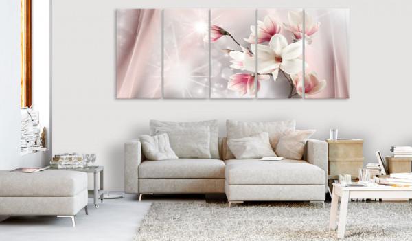 Tablou - Dazzling Magnolias (5 Parts) Narrow