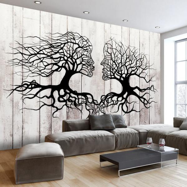 Fototapet - A Kiss of a Trees