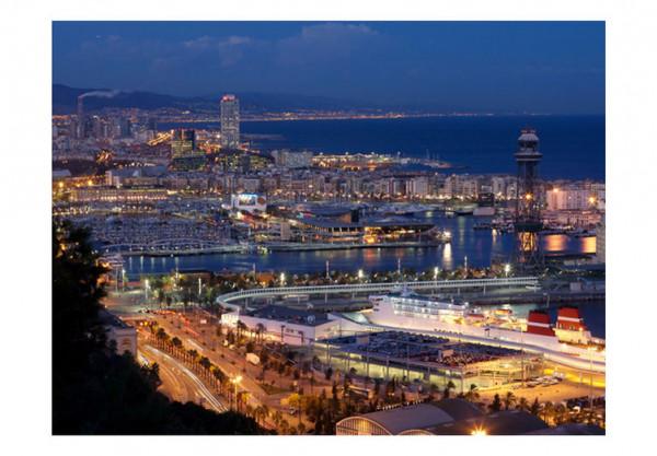 Fototapet - Barcelona: night