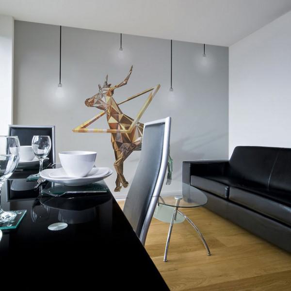 Fototapet - deer (3D)