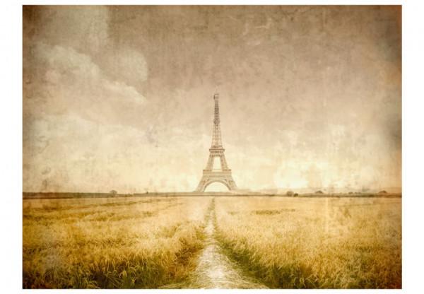 Fototapet - Eiffel Tower vintage