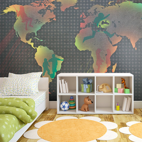 Fototapet - map (for children)