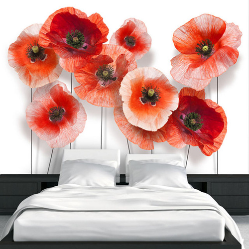 Poze Fototapet - Nine poppies