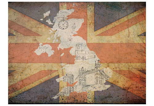 Poze Fototapet - Postcard from Great Britain