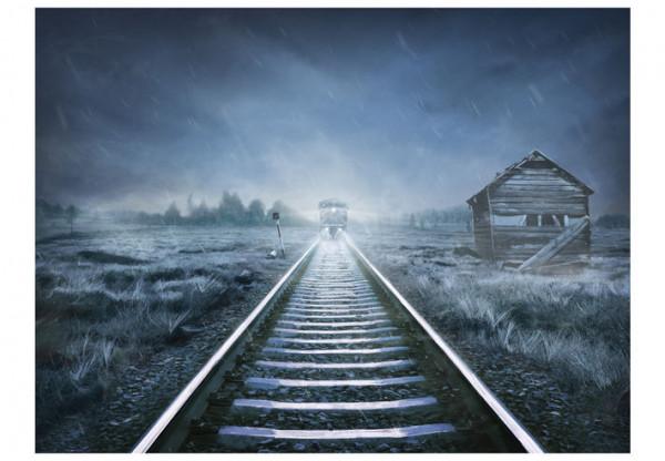 Fototapet - The ghost train