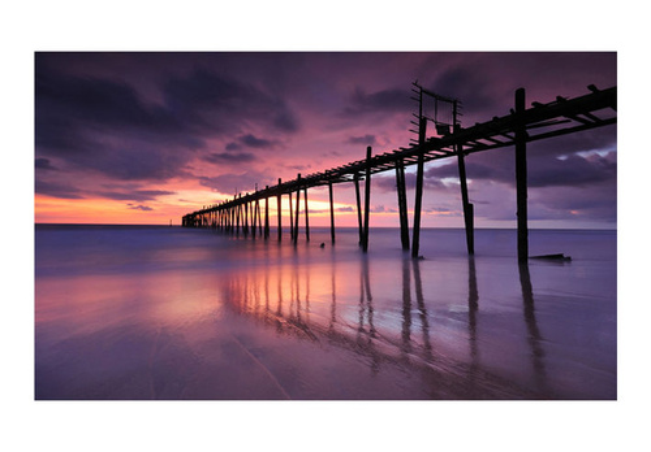 Fototapet - Wooden pier