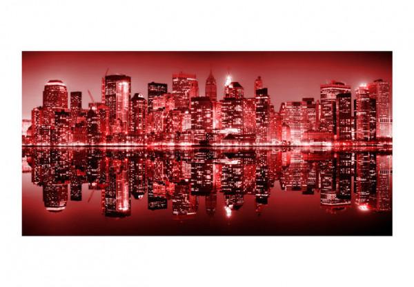 Fototapet XXL - Red-hot NYC