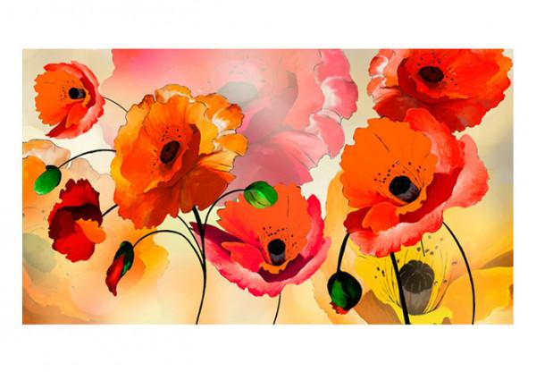 Fototapet XXL - Velvet poppies