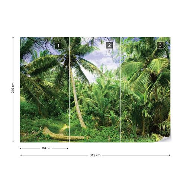 Jungle Photo Wallpaper Wall Mural