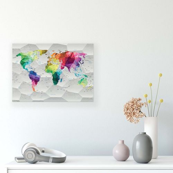 Maps Canvas Photo Print
