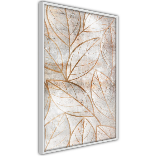Poster - Copper Leaves