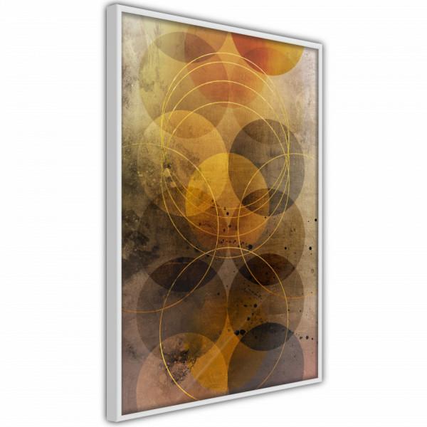 Poster - Golden Circles