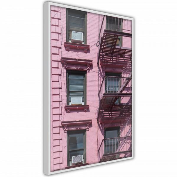 Poster - Pink Facade