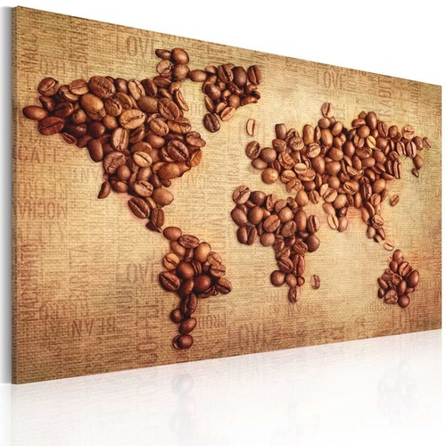 Poze Tablou - Coffee from around the world