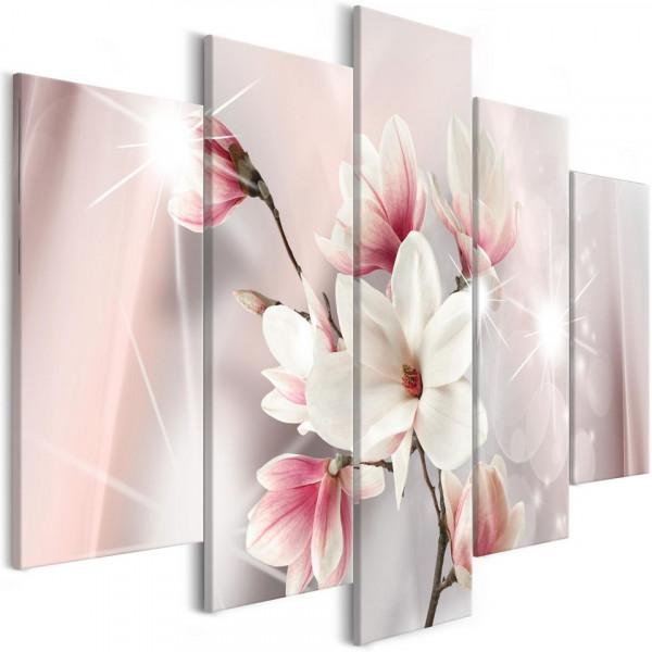 Tablou - Dazzling Magnolias (5 Parts) Wide