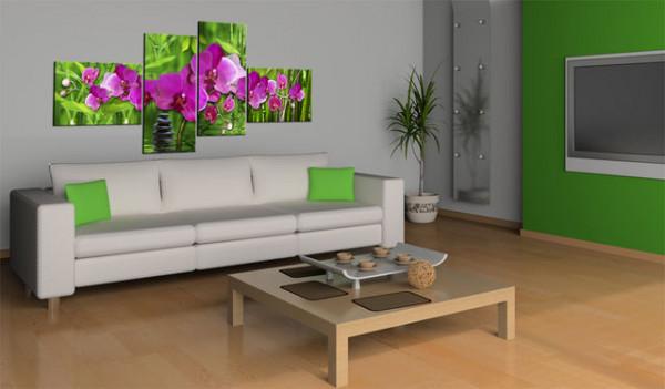 Tablou - Zen Zone in vivid colors