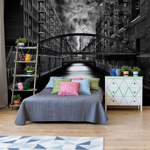 The Other Side Of Hamburg Photo Wallpaper Mural