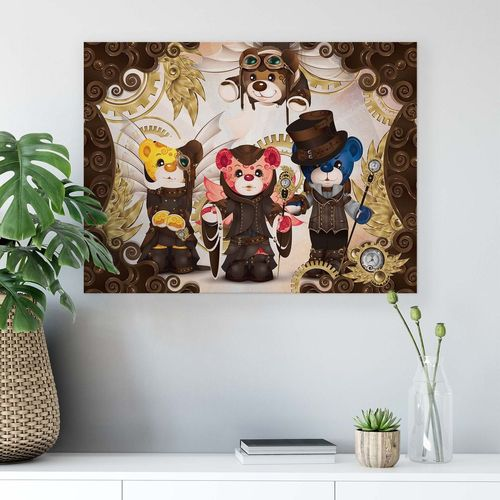 Care Bears Canvas Photo Print
