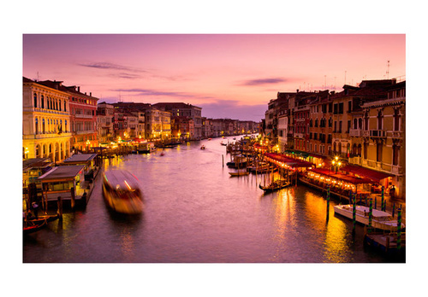 Fototapet - City of lovers, Venice by night