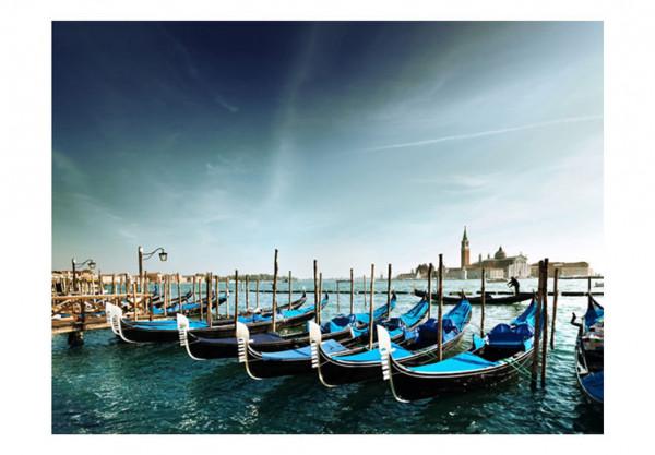 Fototapet - Gondolas on the Grand Canal, Venice