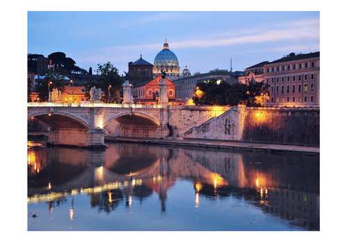 Poze Fototapet - Night view of Rome, Italy