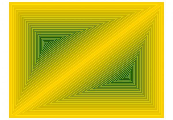 Fototapet - triangle - 3D