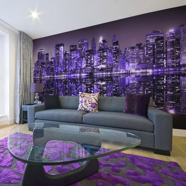 Fototapet XXL - American violet