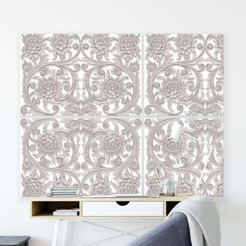 Patterns Canvas Photo Print