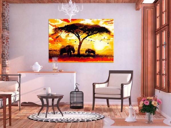 Pictatul pentru recreere - Africa at Sunset