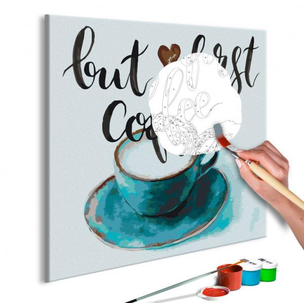Pictatul pentru recreere - But First Coffee