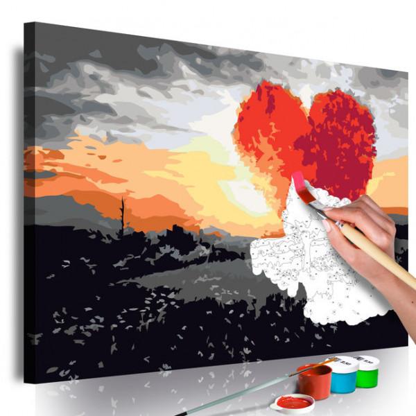 Pictatul pentru recreere - Heart-Shaped Tree (Sunrise)