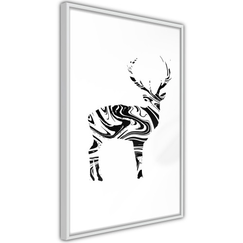 Poster - Marble Stag