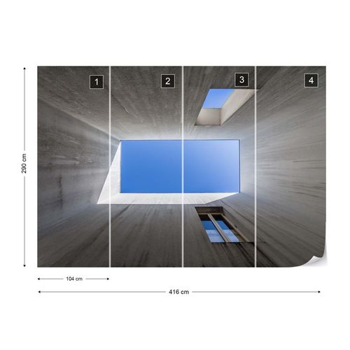 See The Blue Photo Wallpaper Mural