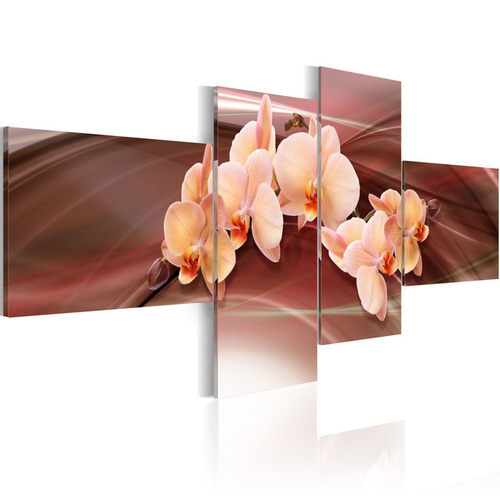 Tablou - An orchid on a subdued background